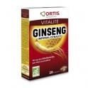 GINSENG IMPÉRIAL BIO - 20 comprimés - Ortis