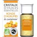 Cristaux d'huiles essentielles Ronde d'Agrumes BIO - flacon de 20 g - Encens du monde - Florisens - Aromandise