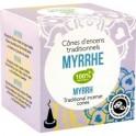 Cones d'encens indien myrrhe - boite 12 cones + porte encens - Florisens